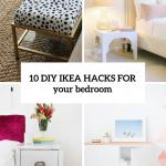 10 Awesome And Practical Diy Ikea Hacks For Your Bedroom Shelterness Küche Kaufen Betten 160x200 Modulküche Kosten Sofa Mit Schlaffunktion Bei Miniküche Wohnzimmer Ikea Hacks