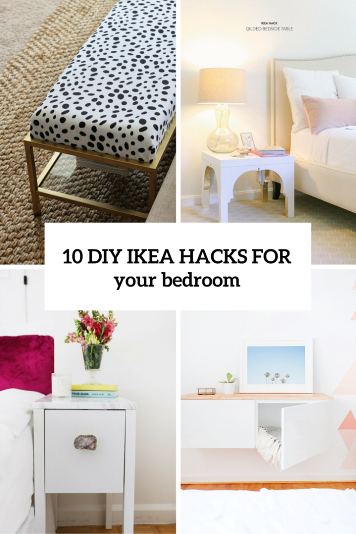 Medium Size of 10 Awesome And Practical Diy Ikea Hacks For Your Bedroom Shelterness Küche Kaufen Betten 160x200 Modulküche Kosten Sofa Mit Schlaffunktion Bei Miniküche Wohnzimmer Ikea Hacks