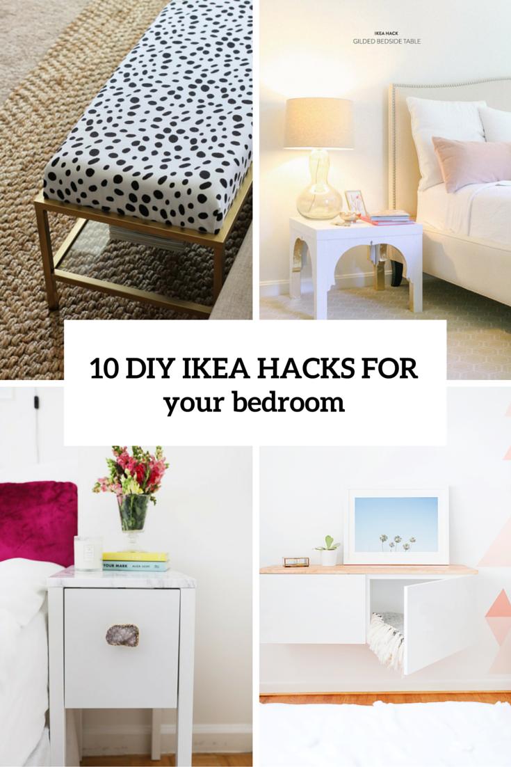 Full Size of 10 Awesome And Practical Diy Ikea Hacks For Your Bedroom Shelterness Küche Kaufen Betten 160x200 Modulküche Kosten Sofa Mit Schlaffunktion Bei Miniküche Wohnzimmer Ikea Hacks
