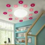 Deckenlampen Kinderzimmer Kinderzimmer Deckenlampen Kinderzimmer Wand Und Deckenleuchte Mit Pinken Blumen Viki Meinelampe Sofa Regale Wohnzimmer Regal Weiß Modern Für