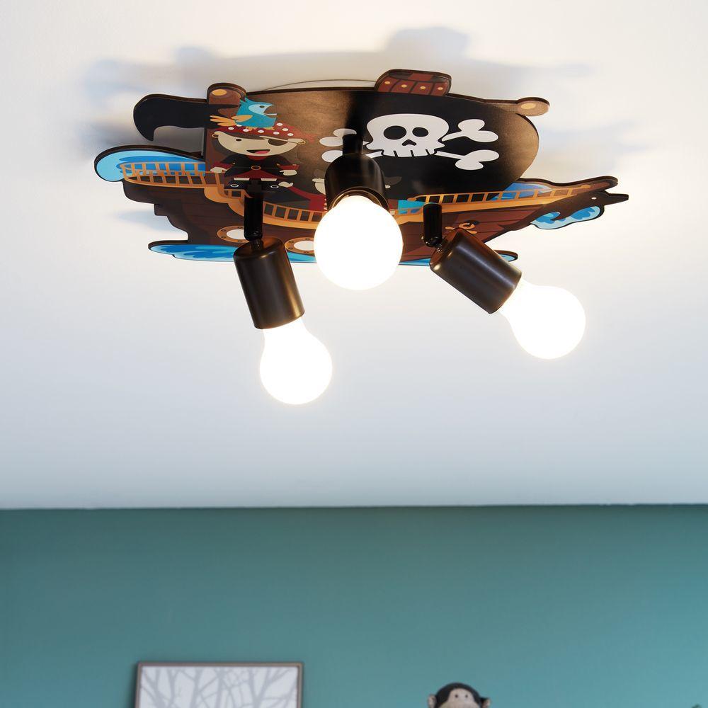 Full Size of Piraten Kinderzimmer Deckenleuchte Aus Holz Und Stahl Mit Motiv Regal Sofa Weiß Regale Kinderzimmer Piraten Kinderzimmer