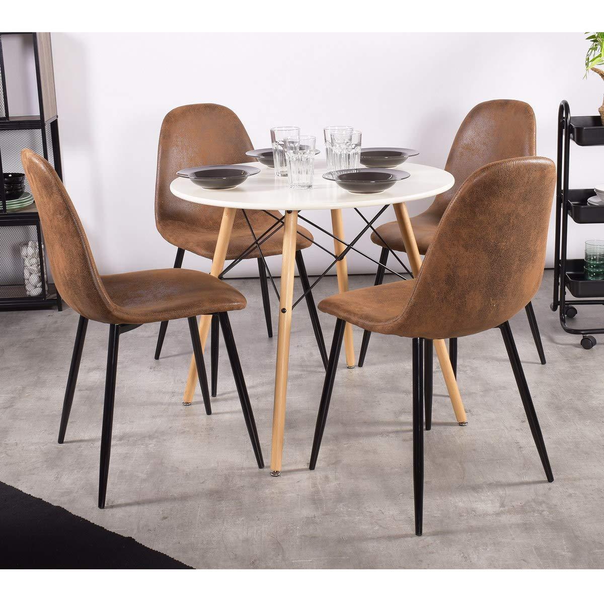 Full Size of Esstisch Sthle Mit Design Charakter Fr Unter 100 80x80 Teppich Betonplatte Shabby Chic Massivholz Esstischstühle Massiver Ausziehbarer Und Stühle Runde Esstische Stühle Esstisch