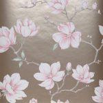 Magnolia Farbe Tapete Perlbeige Wohnzimmer Magnolia Farbe