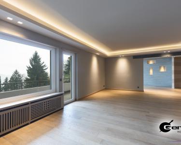 Wohnzimmer Indirekte Beleuchtung Wohnzimmer Wohnzimmer Indirekte Beleuchtung Abgehngte Decke In Einem Modernen Heizkörper Teppich Tapete Hängeschrank Weiß Hochglanz Bilder Xxl Deckenlampe Badezimmer