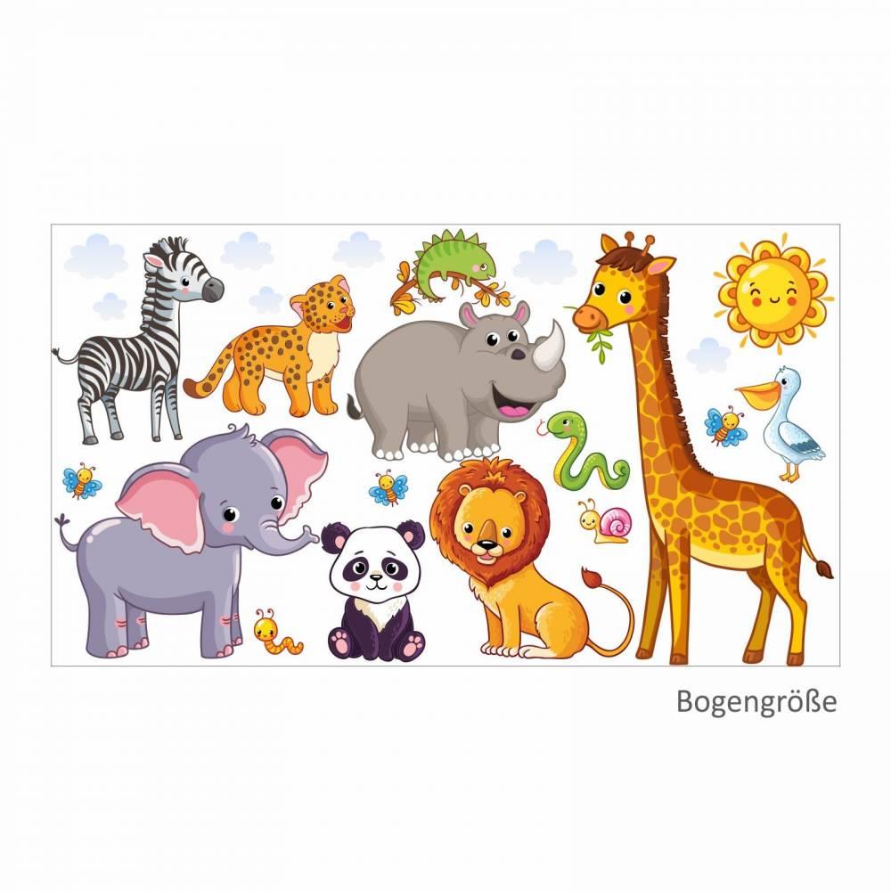 Full Size of 080 Wandtattoo Tiere Kinderzimmer Elefant Lwe Giraffe Wandtattoos Wohnzimmer Bad Sofa Sprüche Regal Schlafzimmer Badezimmer Küche Weiß Regale Kinderzimmer Wandtattoo Kinderzimmer Tiere