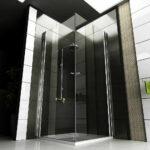 Dusche 80x80 Dusche Dusche 80x80 Alpenberger Rahmenlose Glas Duschkabine Duschabtrennung 90x90 Antirutschmatte Anal Behindertengerechte Eckeinstieg Pendeltür Abfluss Schulte