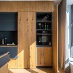 Moderne Holzkche Ein Designerstck Mit Charakter Wohnzimmer Holzküchen