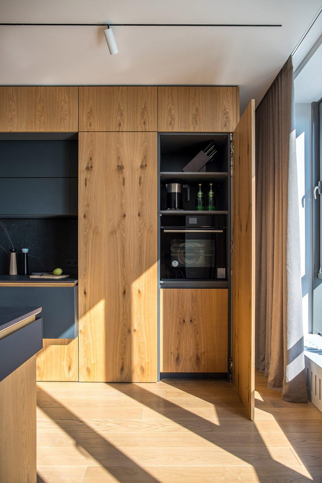 Full Size of Moderne Holzkche Ein Designerstck Mit Charakter Wohnzimmer Holzküchen