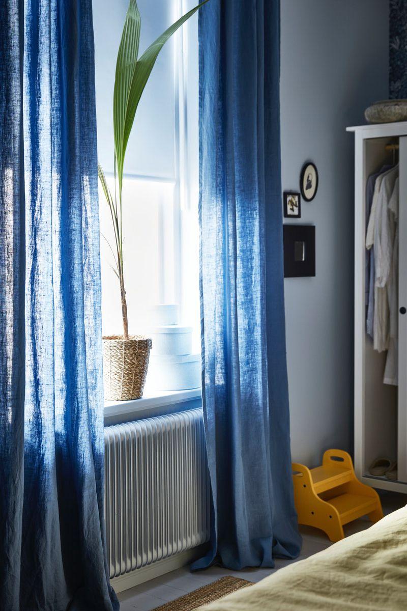 Full Size of Vorhänge Wohnzimmer Ikea Deutschland Der Leinenstoff Hat Eine Unregelmige Küche Tapete Deckenlampe Wandbilder Poster Komplett Hängeleuchte Schrankwand Wohnzimmer Vorhänge Wohnzimmer