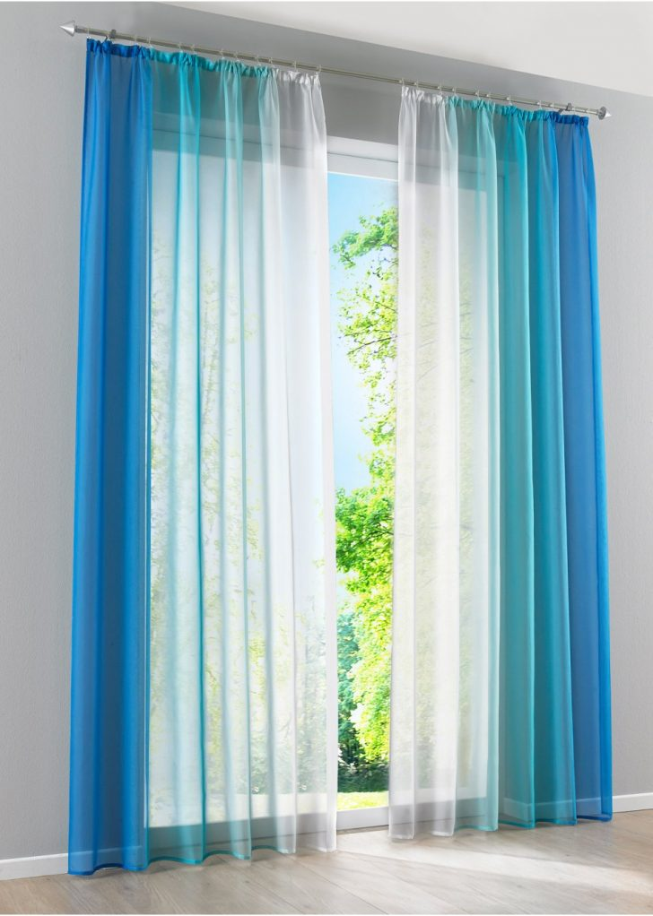 Medium Size of Bonprix Gardinen Farblicher Hingucker Fr Dein Fenster Blau Schlafzimmer Für Küche Betten Scheibengardinen Wohnzimmer Die Wohnzimmer Bonprix Gardinen