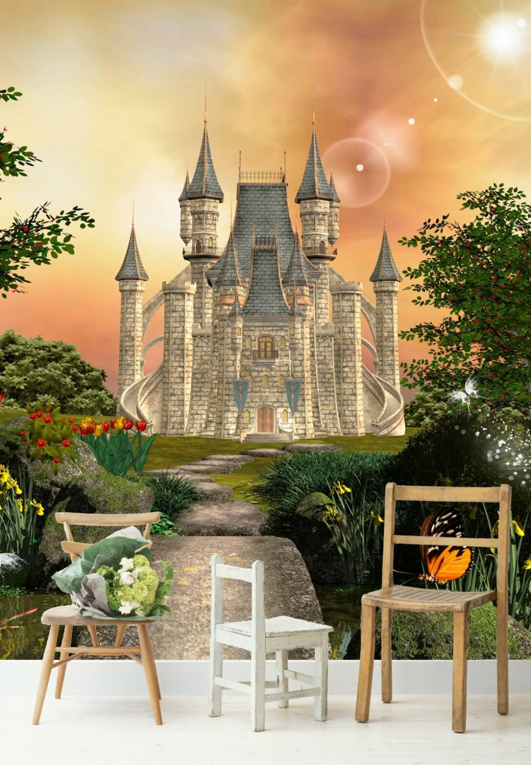 Large Size of Fototapeten Kinderzimmer Vlies Tapete Fototapete Schloss Poster Sofa Regal Regale Weiß Wohnzimmer Kinderzimmer Fototapeten Kinderzimmer
