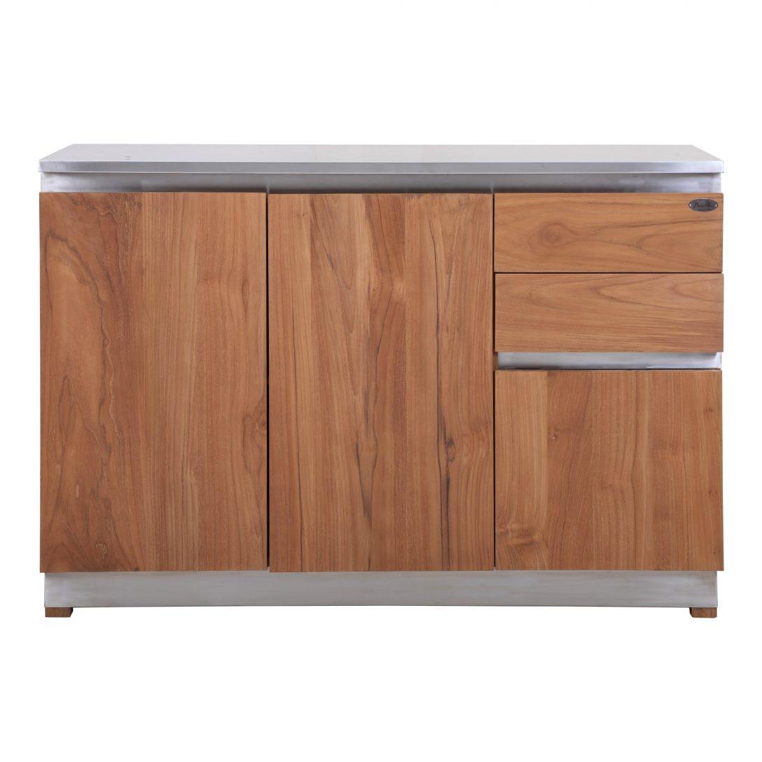 Large Size of Küchenanrichte Kchenanrichte Rivera Outdoormbel Aus Teak Und Edelstahl Teakode Wohnzimmer Küchenanrichte