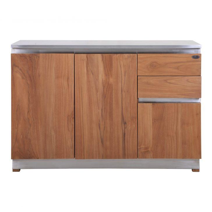 Medium Size of Küchenanrichte Kchenanrichte Rivera Outdoormbel Aus Teak Und Edelstahl Teakode Wohnzimmer Küchenanrichte