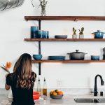 Küche Wandfarbe Kche Keramikfarbe Kchen Journal Anthrazit Jalousieschrank Was Kostet Eine Fliesenspiegel Selber Machen Wandfliesen Bartisch Günstig Mit Wohnzimmer Küche Wandfarbe