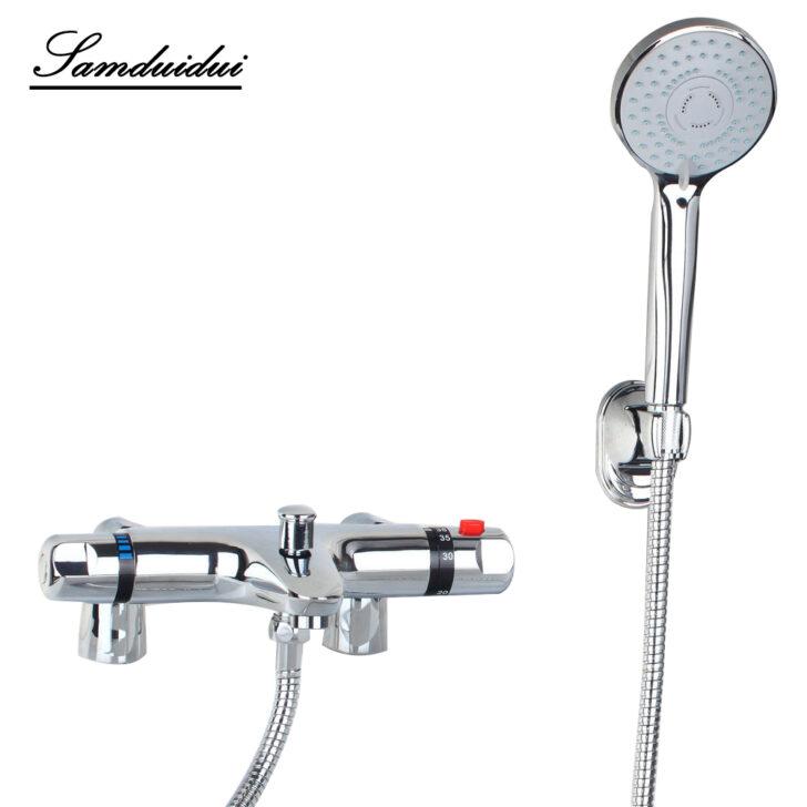 Medium Size of Mischbatterie Dusche Luxus Wand Thermostat Armaturen Chrom Poliert Rainshower Mit Tür Und 80x80 Schulte Duschen Ebenerdige Kleine Hüppe Küche Glasabtrennung Dusche Mischbatterie Dusche