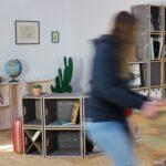 Stecksystem Regal Regal Stecksystem Regal Einrichten Mit Und Holz Regalsystem Regale Selber Bauen Raumtrenner Schreibtisch Beistellregal Küche Cd Glasböden Industrie Raumteiler Aus