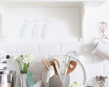 Küche Diy Wohnzimmer Küche Diy Frhlingsdeko In Der Kche Schn Bei Dir By Depot Einbauküche Gebraucht Modulare Mit Elektrogeräten Günstig Sitzbank Einhebelmischer Tresen