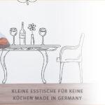 Kleine Esstische Fr Kchen Kaufratgeber Küche Einrichten Bäder Mit Dusche Kleiner Esstisch L Form Kleines Regal Badezimmer Neu Gestalten Moderne Design Regale Esstische Kleine Esstische