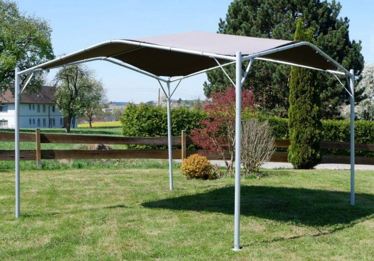 Medium Size of Gartenpavillon Metall Garten Pavillon Venezia 3x3m 3x4 Bett Regale Regal Weiß Wohnzimmer Gartenpavillon Metall