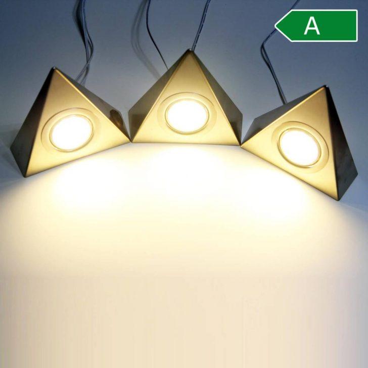 Medium Size of Led Unterbaustrahler Kchenleuchte Kche Dreiecksleuchte Edelstahl Wohnzimmer Küchenleuchte