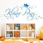 Wandsticker Kinderzimmer Junge Jungen Kleiner Prinz Mit Sternen Und Krone Wandtattoo Küche Regal Weiß Regale Sofa Kinderzimmer Wandsticker Kinderzimmer Junge