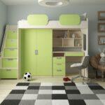 Kinderzimmer Hochbett Kinderzimmer Komfort Hochbett Geko E1 Zertifizierten Spanplatten Regal Kinderzimmer Weiß Sofa Regale