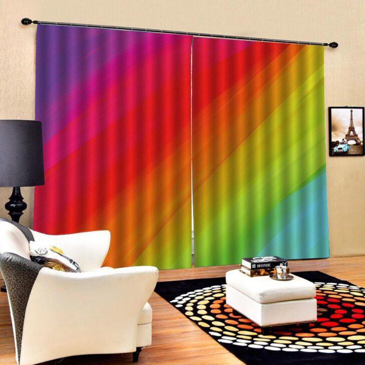 Medium Size of Vorhänge Wohnzimmer Regenbogen Vorhnge Farbe Vorhang 3d Blackout Tapete Hängeschrank Weiß Hochglanz Lampen Hängelampe Sessel Wohnzimmer Vorhänge Wohnzimmer