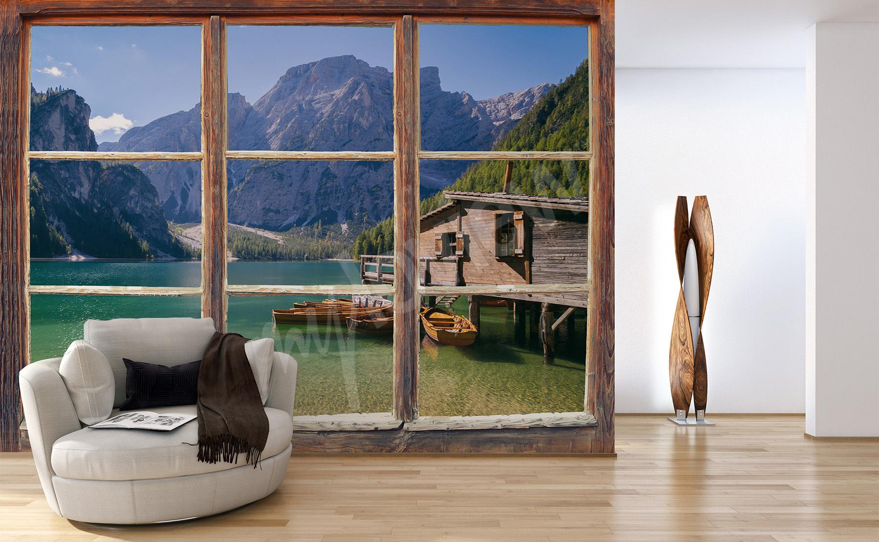 Full Size of Fototapeten Wohnzimmer Fototapete Fenster Küche Schlafzimmer Wohnzimmer 3d Fototapete