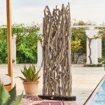 Paravent Outdoor Wohnzimmer Paravent Outdoor Woody Loberon Garten Küche Kaufen Edelstahl