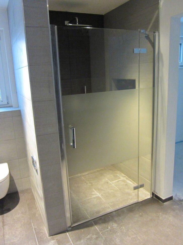 Medium Size of Glastür Dusche Sanitrobjekte Bw Baublog Glastr Antirutschmatte Wand Nischentür Hängeschrank Küche Glastüren Glastrennwand Schiebetür Hüppe Grohe Moderne Dusche Glastür Dusche
