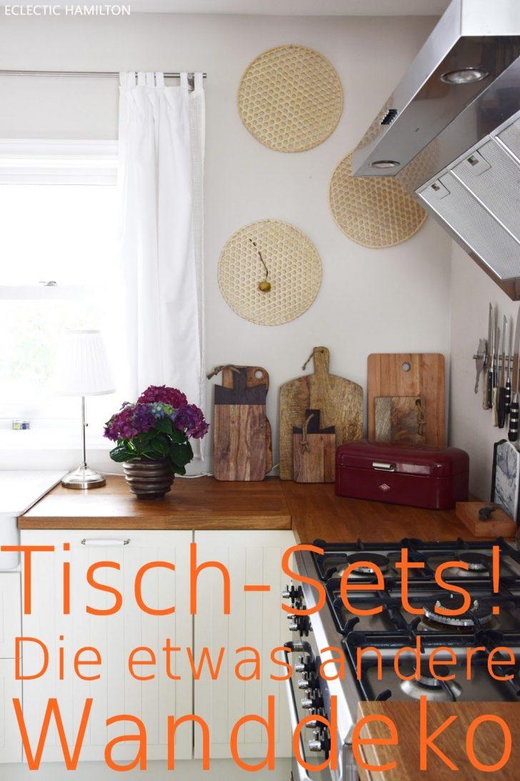 Medium Size of Küche Wanddeko Tischsets Als Einfache Und Gnstige Dekoidee Fr Laminat Ikea Kosten Abfalleimer Günstige Mit E Geräten Klapptisch Mischbatterie Kurzzeitmesser Wohnzimmer Küche Wanddeko