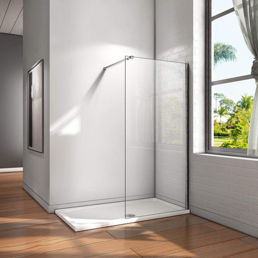 Large Size of Glaswand Dusche 10mm Walk In Duschwand Esg Nano Glas Duschkabine Bodengleiche Duschen Badewanne Mit Tür Und Einhebelmischer Begehbare Fliesen Rainshower Dusche Glaswand Dusche