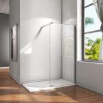 Glaswand Dusche Dusche Glaswand Dusche 10mm Walk In Duschwand Esg Nano Glas Duschkabine Bodengleiche Duschen Badewanne Mit Tür Und Einhebelmischer Begehbare Fliesen Rainshower