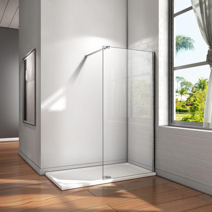Medium Size of Glaswand Dusche 10mm Walk In Duschwand Esg Nano Glas Duschkabine Bodengleiche Duschen Badewanne Mit Tür Und Einhebelmischer Begehbare Fliesen Rainshower Dusche Glaswand Dusche