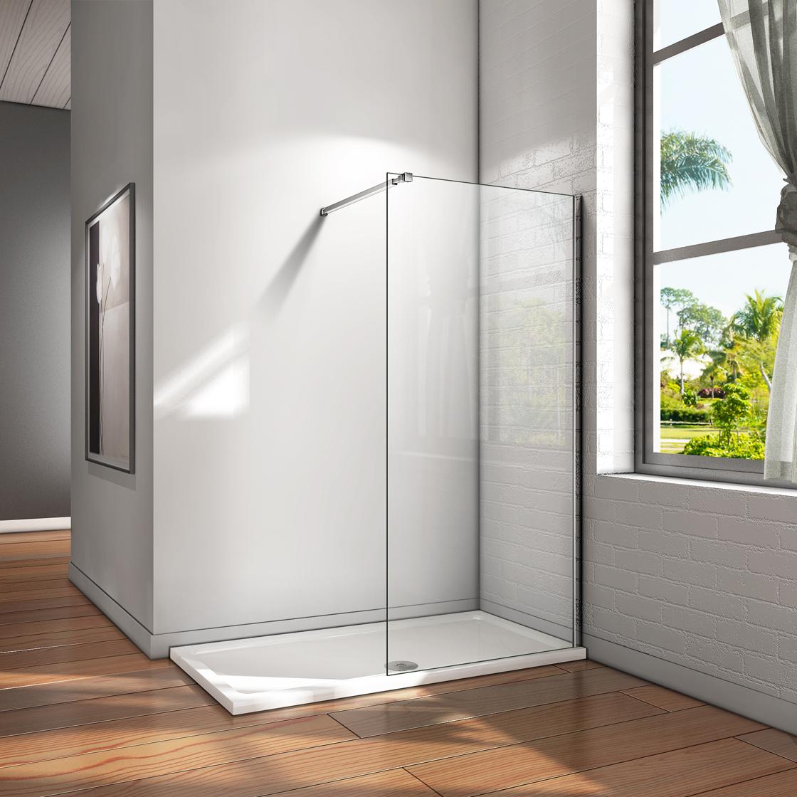 Full Size of Glaswand Dusche 10mm Walk In Duschwand Esg Nano Glas Duschkabine Bodengleiche Duschen Badewanne Mit Tür Und Einhebelmischer Begehbare Fliesen Rainshower Dusche Glaswand Dusche