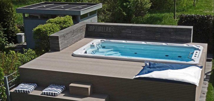 Medium Size of Pool Im Garten Bauen Genehmigung Richtig Aufstellen Monatliche Kosten Erfahrungen Was Beachten Swim Spa Pools Kaufen Von Optirelax Badezimmer Hochschrank Weiß Wohnzimmer Pool Im Garten