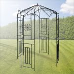 Gartenpavillon Metall Wohnzimmer Gartenpavillon Metall Pavillon Wien 160x160x250 Cm Regal Weiß Regale Bett