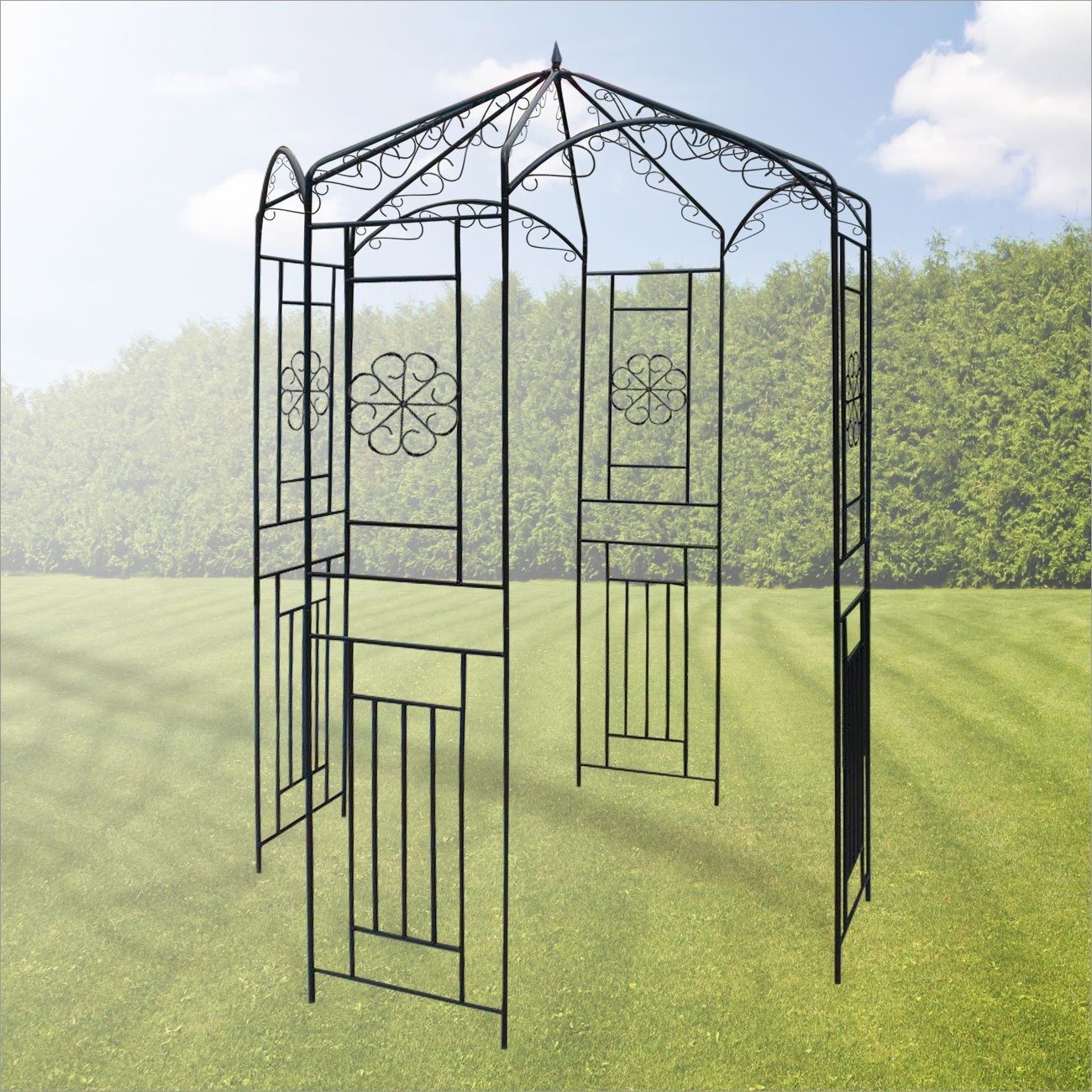 Full Size of Gartenpavillon Metall Pavillon Wien 160x160x250 Cm Regal Weiß Regale Bett Wohnzimmer Gartenpavillon Metall