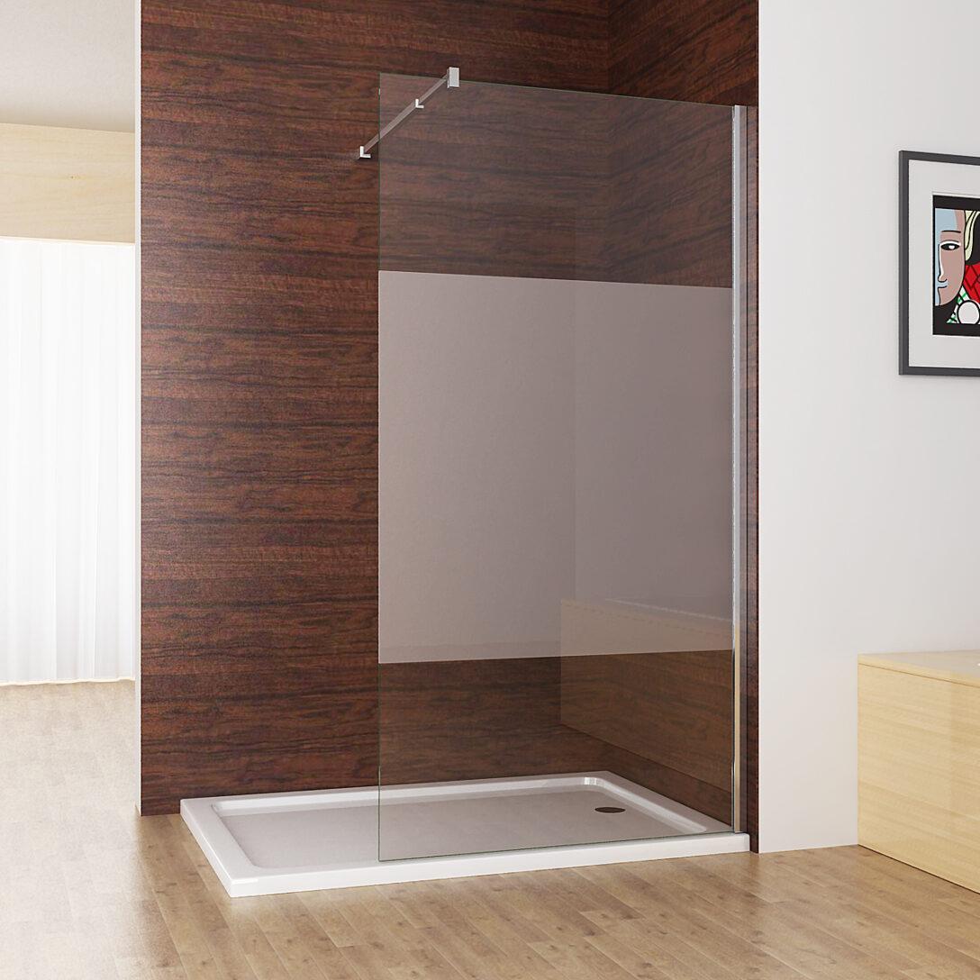 Large Size of Walk In Dusche Duschabtrennung Duschwand 10mm Nano Teilsatin Glas Bodengleiche Nachträglich Einbauen Fliesen Für Komplett Set Unterputz Begehbare Pendeltür Dusche Glaswand Dusche