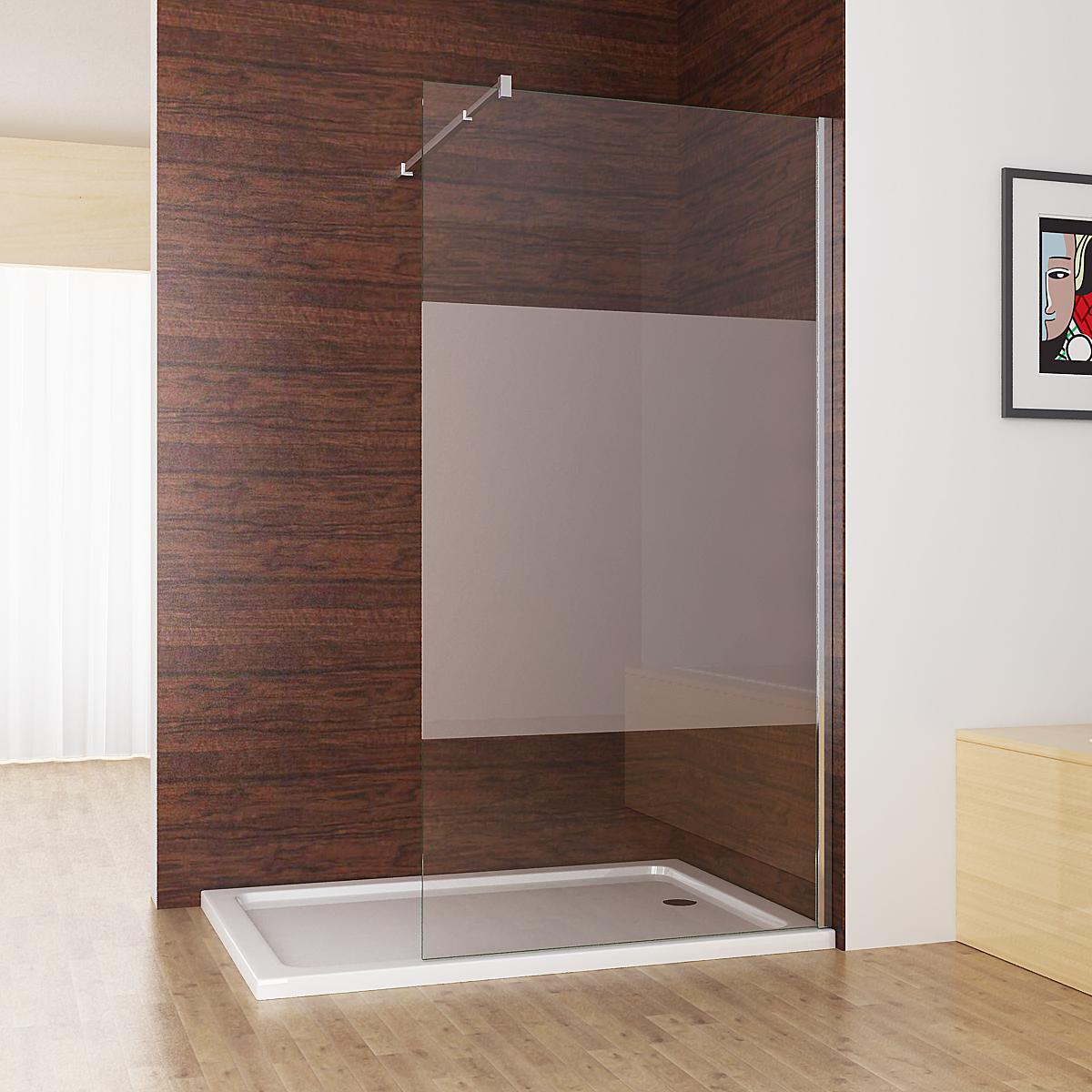 Full Size of Walk In Dusche Duschabtrennung Duschwand 10mm Nano Teilsatin Glas Bodengleiche Nachträglich Einbauen Fliesen Für Komplett Set Unterputz Begehbare Pendeltür Dusche Glaswand Dusche
