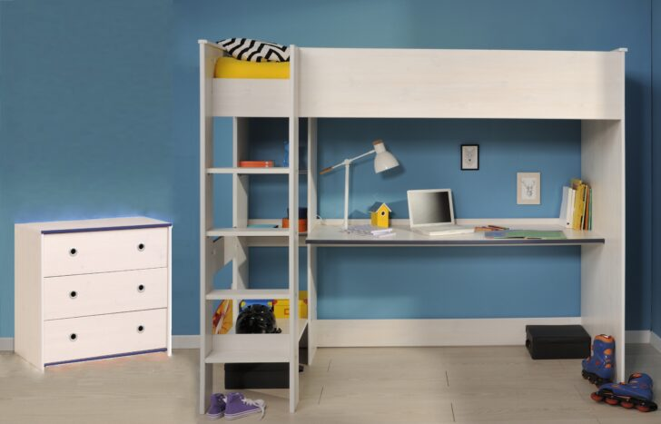 Medium Size of Kinderzimmer Set 2 Tlg Inkl 90x200 Hochbett Smoozy 29a Von Parisot Sofa Regal Regale Weiß Kinderzimmer Hochbett Kinderzimmer