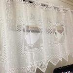 Amazonde Vorhang Mit Teekanne Fr Fenster Wohnzimmer Küchenvorhänge