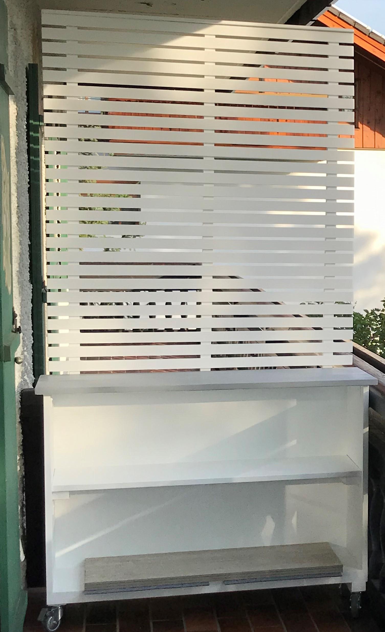 Full Size of Diy Mobiles Pflanzregal Mit Sichtschutz Selber Bauen Kopfteil Bett 140x200 Für Fenster Einbauküche Velux Einbauen Sichtschutzfolie Einseitig Durchsichtig Wohnzimmer Sichtschutz Selber Bauen