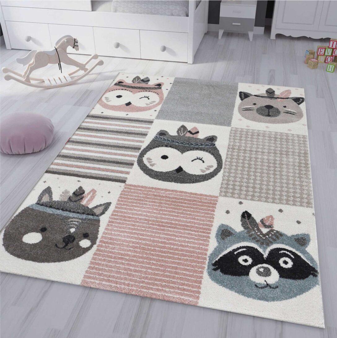 Large Size of Kinderzimmer Teppich Pastell Creme Braun Pink Fabel Tiere Ceres Wohnzimmer Teppiche Regal Weiß Regale Sofa Kinderzimmer Teppiche Kinderzimmer
