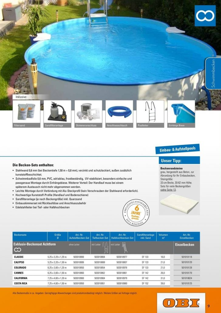Medium Size of Obi Aktuelles Prospekt 3072018 31122018 Rabatt Kompassde Swimmingpool Garten Mini Pool Einbauküche Nobilia Immobilienmakler Baden Immobilien Bad Homburg Wohnzimmer Obi Pool