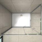 Schiebetür Dusche Duschkabine Duschabtrennung Schiebetr Nano Glas Wand 80x80 Siphon Grohe Bodengleiche Komplett Set Nischentür Schulte Duschen Eckeinstieg Dusche Schiebetür Dusche