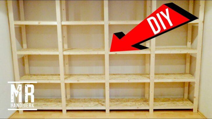 Medium Size of Gnstiges Holzregal Selber Bauen Perfekt Werkstatt Youtube Dvd Regale Meta Metall Bett 140x200 Für Dachschrägen Bodengleiche Dusche Einbauen Bito Weiß Amazon Regal Regale Selber Bauen