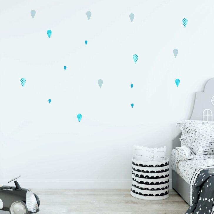 Medium Size of Wandsticker Kinderzimmer Junge Regentropfen Wassertropfen Blau Regal Küche Sofa Regale Weiß Kinderzimmer Wandsticker Kinderzimmer Junge