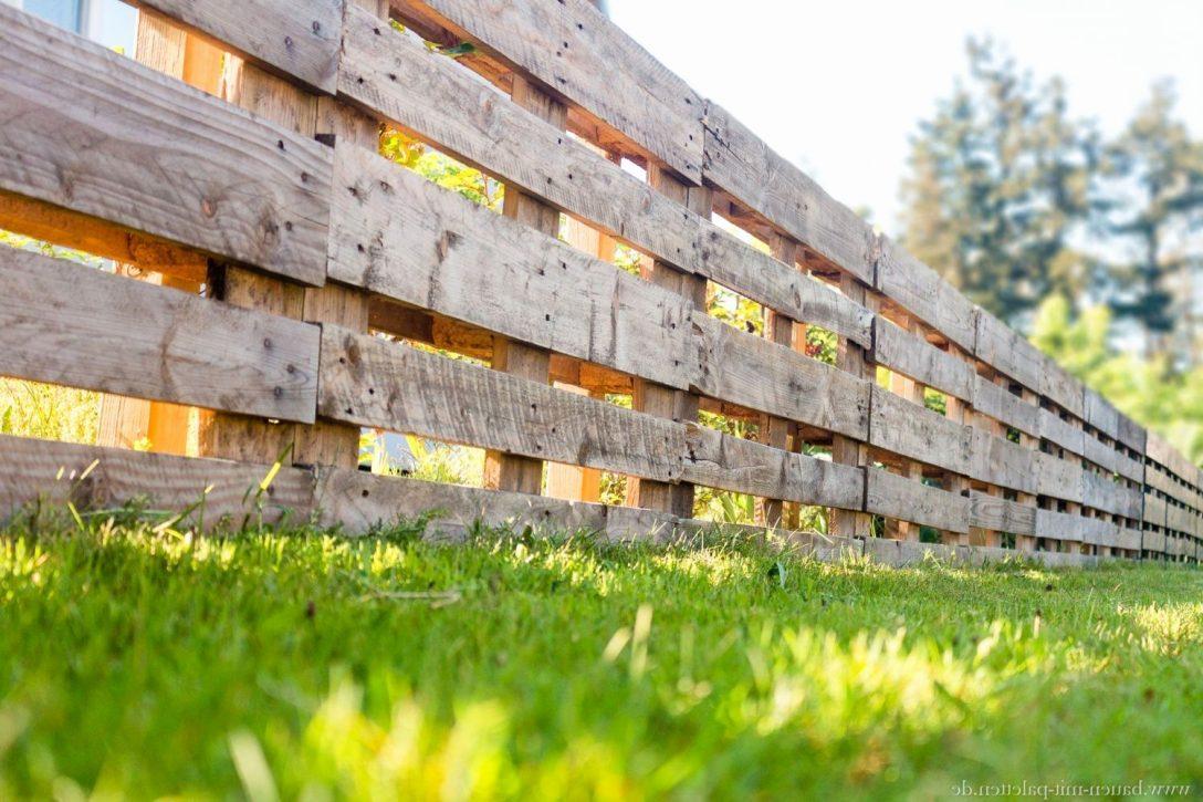 Large Size of Zaun Aus Paletten Selber Bauen Mit Europaletten Das Gartenmagazin Ausgefallene Betten Esstisch Eiche Ausziehbar Spielhaus Garten Kunststoff Regale Bett Wohnzimmer Zaun Aus Paletten