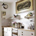 Küche Wanddeko Zauberhafte Kche Im Landhausstil Einrichten Kleiner Tisch Tresen Polsterbank Holzofen Ikea Kosten Amerikanische Kaufen Pendelleuchten Wohnzimmer Küche Wanddeko